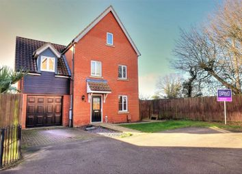 Thumbnail 4 bed detached house for sale in Lime Tree Avenue, Norwich