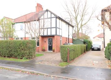 Thumbnail 3 bed semi-detached house for sale in Leyland Road, Harrogate