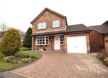 Thumbnail 4 bed detached house for sale in Hampshire Close, Glossop