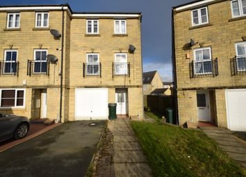 Thumbnail 3 bed town house for sale in Keilder Crescent, Bradford, Clayton, West Yorkshire