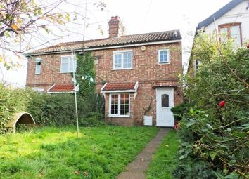 Thumbnail 2 bed semi-detached house for sale in Watton, Thetford, Norfolk