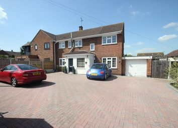 Thumbnail 4 bed semi-detached house for sale in Pound Lane, Laindon, Basildon