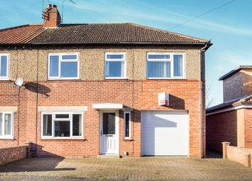 Thumbnail 4 bed semi-detached house for sale in Bevis Way, King's Lynn