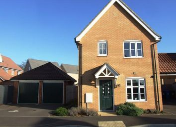Thumbnail 3 bed detached house for sale in Red Lodge, Bury St. Edmunds, Suffolk