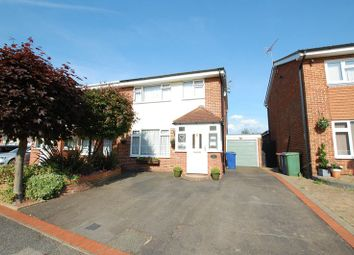 Thumbnail 3 bed semi-detached house for sale in Marlborough Close, Grays