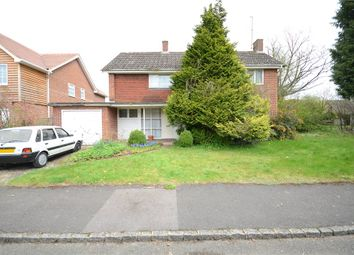 Thumbnail 3 bed detached house for sale in Lycroft Close, Goring-On-Thames, Oxfordshire