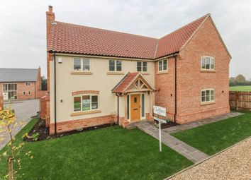 Thumbnail 4 bed detached house for sale in Church Lane, Isleham, Ely