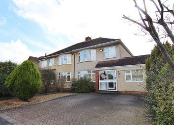 Thumbnail 3 bed semi-detached house for sale in Derwent Grove, Keynsham, Bristol