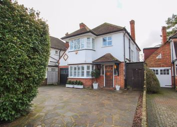 Thumbnail 4 bed detached house for sale in Claygate Lane, Esher
