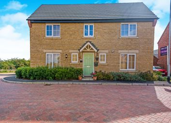 Thumbnail 4 bedroom detached house for sale in Mayfly Road, Northampton