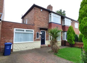 Thumbnail 2 bed semi-detached house for sale in Sherfield Drive, Cochrane Park, Newcastle Upon Tyne