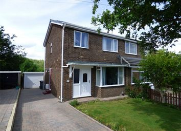 Thumbnail 3 bedroom semi-detached house for sale in Crawthorne Crescent, Bradley, Huddersfield