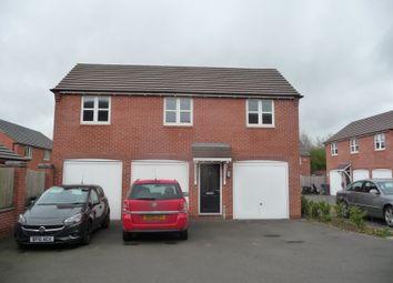 Thumbnail 2 bedroom flat to rent in Usbourne Way, Ibstock, Coalville
