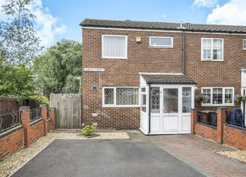 Thumbnail 3 bedroom end terrace house for sale in Larch Croft, Chelmsley Wood, Birmingham, West Midlands