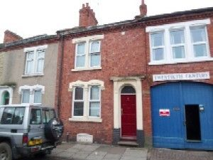 Thumbnail 4 bed terraced house to rent in Whitworth Road, Northampton