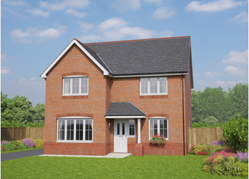 Thumbnail 4 bed detached house for sale in The Brecon, Holmes Chapel Road, Congleton, Cheshire