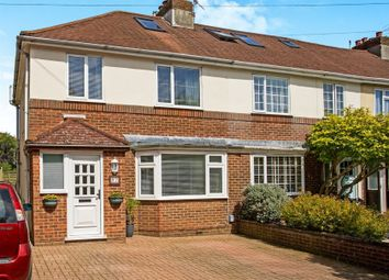 Thumbnail 3 bed end terrace house for sale in Rowan Avenue, Hove