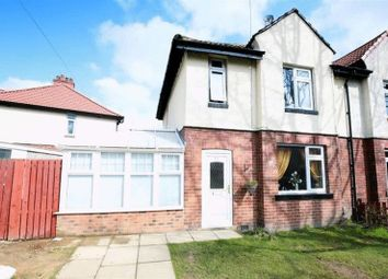 Thumbnail 4 bed semi-detached house for sale in Castle Mount, Thornhill, Dewsbury