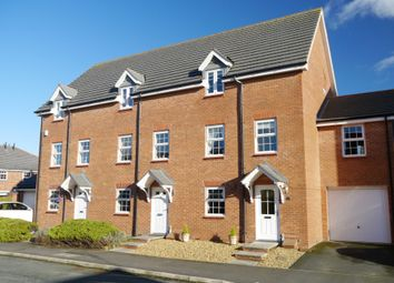 Thumbnail 3 bed town house to rent in Clonners Field, Stapeley, Nantwich