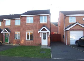 Thumbnail 3 bed semi-detached house to rent in Carnation Road, Shirebrook, Mansfield, Derbyshire