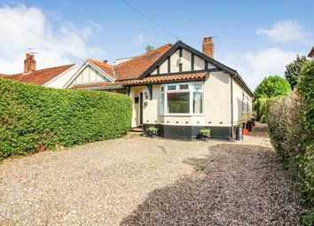 Thumbnail 2 bed semi-detached bungalow for sale in Alford Grove, Sprowston, Norwich