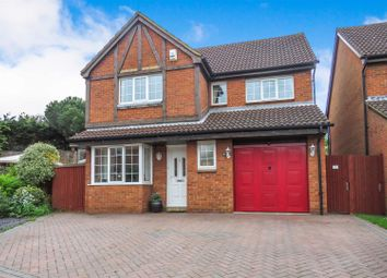 Thumbnail 4 bed detached house for sale in Chaucer Drive, Biggleswade