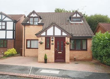 Thumbnail 3 bed detached house for sale in Hallworthy Close, Leigh, Lancashire