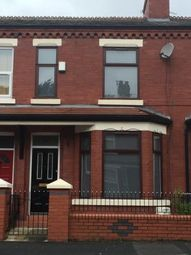 Thumbnail 4 bed terraced house to rent in Ossory Street, Rusholme, Manchester, Greater Manchester
