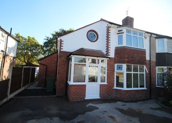 Thumbnail 3 bed semi-detached house for sale in Buckingham Road, Cheadle Hulme, Cheadle