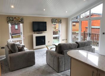 Thumbnail 2 bed mobile/park home for sale in Oakgrove Beech Lodge, White Cross Bay Holiday Park, Troutbeck Bridge, Windermere