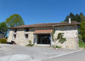 Thumbnail 4 bed property for sale in Cheronnac, Haute-Vienne, France