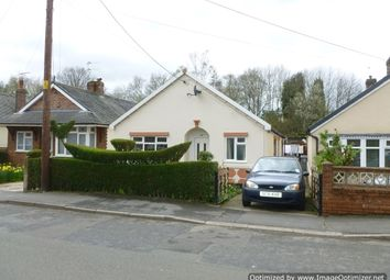 Thumbnail 2 bed detached bungalow to rent in Linley Road, Alsager
