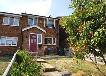 Thumbnail End terrace house for sale in Drake Road, Chessington