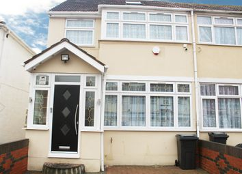 Thumbnail 4 bed terraced house to rent in Wentworth Road, Southall, Middlesex