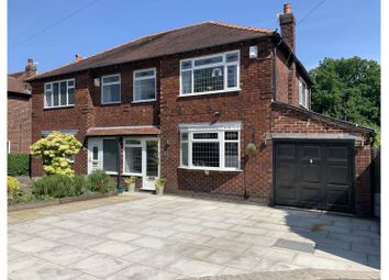 Thumbnail 3 bed semi-detached house for sale in Mosley Road, Altrincham