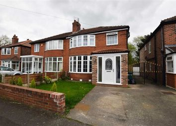 Thumbnail 3 bed property for sale in Shireoak Road, Withington, Manchester