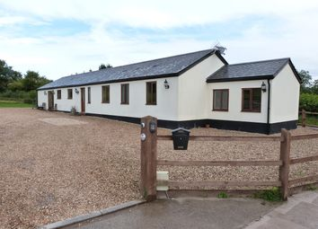 Thumbnail 4 bed detached bungalow for sale in Llanhennock, Newport