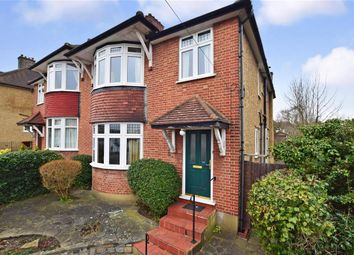 Thumbnail 4 bed semi-detached house for sale in Banstead Road, Carshalton, Surrey