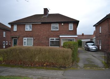 Thumbnail 2 bed semi-detached house for sale in 60 Tennyson Road, Rotherham