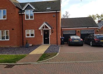 Thumbnail 3 bedroom semi-detached house to rent in Swift Avenue, Eden Park, Rugby