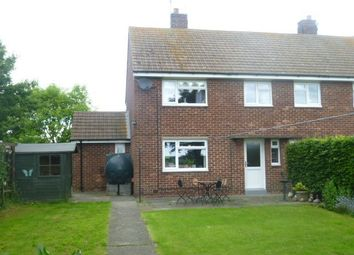 Thumbnail 3 bed semi-detached house to rent in Red Row, Morpeth