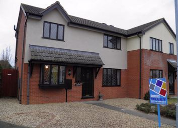 Thumbnail 3 bed semi-detached house to rent in Bakers Way, Morton, Bourne, Lincolnshire