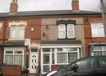 Thumbnail 3 bedroom terraced house for sale in The Broadway, Perry Barr
