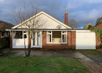 Thumbnail 3 bed detached bungalow for sale in Fiddlers Lane, East Bergholt, Colchester