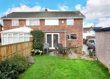 Thumbnail 3 bedroom semi-detached house for sale in Lutterworth Drive, Adwick-Le-Street, Doncaster