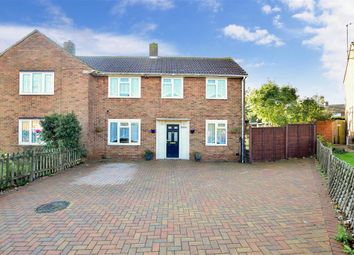 Thumbnail 3 bed semi-detached house for sale in Romany Road, Twydall, Gillingham, Kent