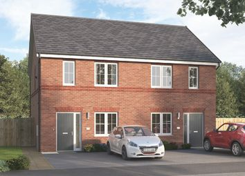 """Thumbnail 3 bed semi-detached house for sale in """"The Culstone Semi"""" at Wellfield Road North, Wingate"""