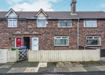 3 bed terraced house for sale in Crofton Crescent, Liverpool, Merseyside, England L13