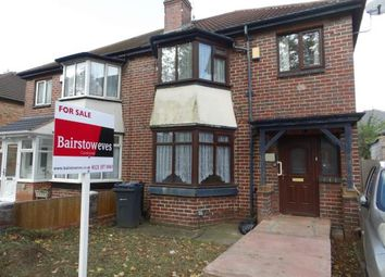 Thumbnail 3 bed semi-detached house for sale in Gibson Road, Handsworth, Birmingham, West Midlands