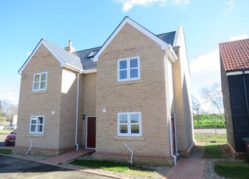 Thumbnail 3 bed semi-detached house to rent in Lynn Road, Littleport, Ely